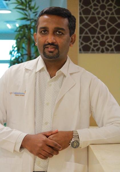 Dr Sreejith P Krishnan