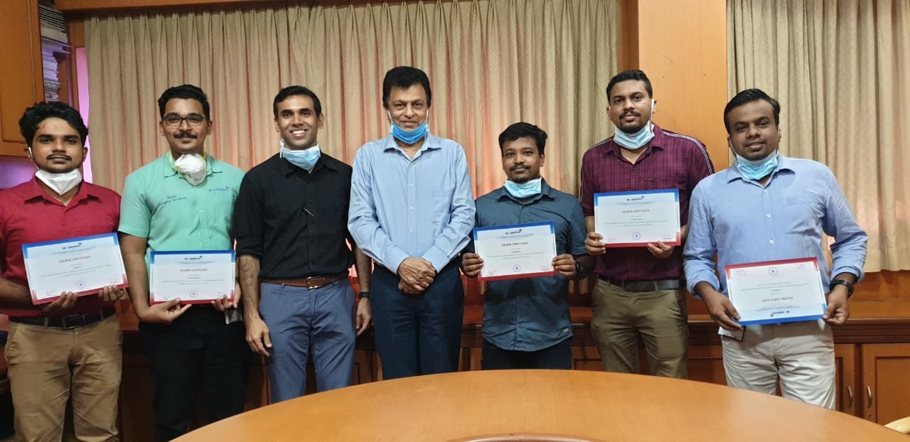 First batch EMT students successfully completed the course