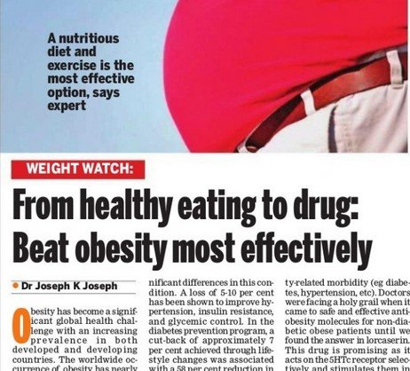 From healthy eating to drug: Beat obesity most effectively