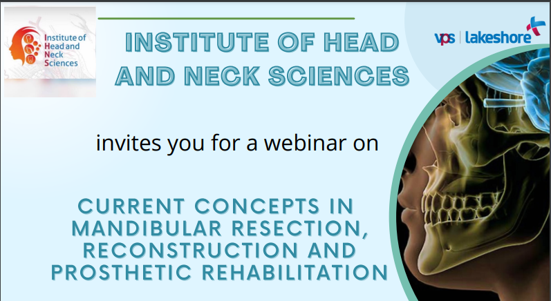 Webinar by Institute of Head and Neck Sciences